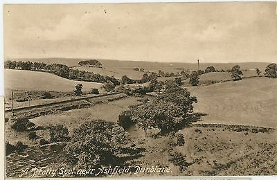 POSTCARD-SCOTTLAND-ASHFIELD DUNBLANE-RPPC,POSTED-sb763