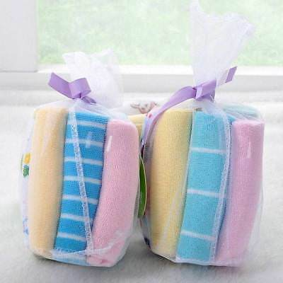 Hot Soft Baby Kids Boy Girl Little baby handkerchief Bath Towel Washcloth 8pcs k