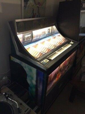 Seeburg Discotheque Jukebox Working With Faults For Restoration