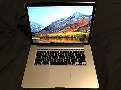 "Apple MacBook Pro 15.4"" Retina Laptop MC976X/A Mid 2012 512GB 8GB RAM 2.6GHz i7"