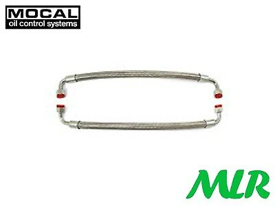 Mocal Vw Golf Gti Mk1 M18 Stainless Steel Oe Oil Cooler Hoses And Fittings Pair