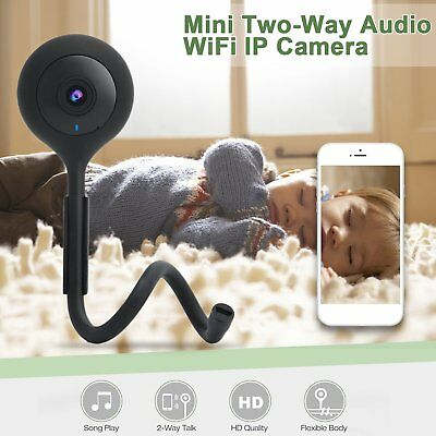 Digital Baby Infant Pet Monitor Video Audio Camera Wifi Night Vision Security R4