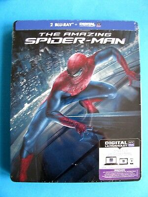 Edition 2 blu ray -The Amazing Spider-Man Boitier Métal SteelBook sous blister