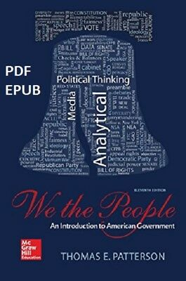 (PDF.EPUB) We The People: An Introduction to American Government [11 ed.] EB00K
