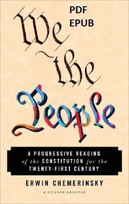 (PDF.EPUB) We the people : a progressive reading of the constitution for EB00K