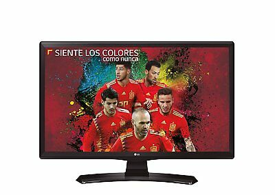 "LG TV 24"" pollici Monitor LED HD READY HDMI USB DVB-T2 24TK410V-PZ garamzia It"