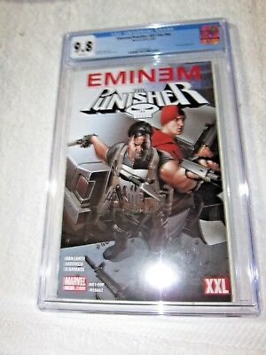 Eminem & The Punisher 9.8 XXL Limited Edition Comic Book Marvel Super Rare CGC