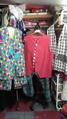 Three Lovely Chorus Costumes - Ideal For Snow White, Panto, Am Dram