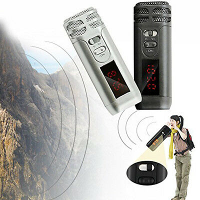 Wireless Transmission USB Handheld Mini Voice Amplifier Rechargeable Microphone
