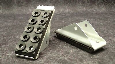 1 Pair Duo-Safety Ladder Shoe / Feet Replacement Kit Extension Ladder Parts