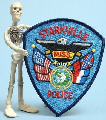 Starkville Police Patch Mississippi Miss. MS Law Enforcement PD