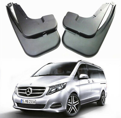 OEM Splash Guards Mud Guards Flaps For 2015-2018 Mercedes Benz Vito V Class W447
