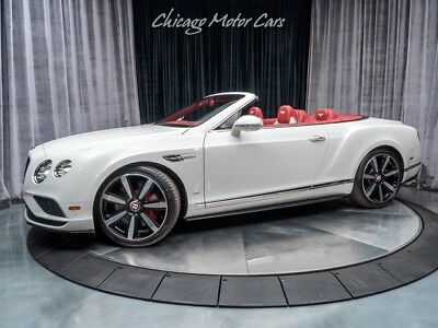 2016 Bentley Continental GT Convertible MSRP $249,420+
