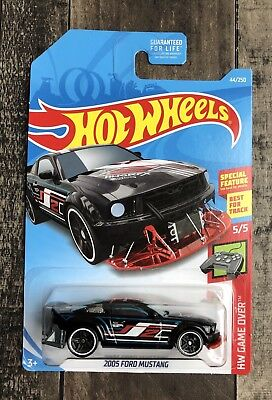 2005 Ford Mustang 2017 Hot Wheels Hw Game Over Black Red
