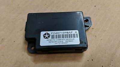 Jeep Patriot Compass Ecu Control Module P04671918Af
