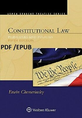 (PDF.EPUB) Constitutional Law: Principles and Policies [5 ed.]EB00K