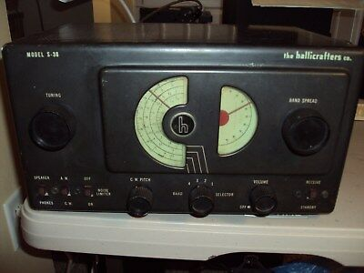 Hallicrafters S-38 Bc/sw Receiver
