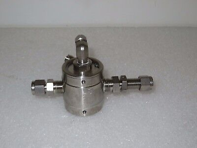 Humphrey SS250A Stainless Steel Air Piloted Valve