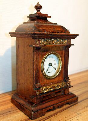 *Antique Table Clock Alarm Clock Mantel Shelf Bracket Clock*