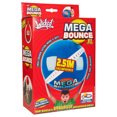 L Wicked Vision Ltd WKMB Mega Bounce Red or Blue