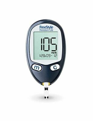 New Freestyle Freedom Lite Blood Glucose Meter ( No Box )