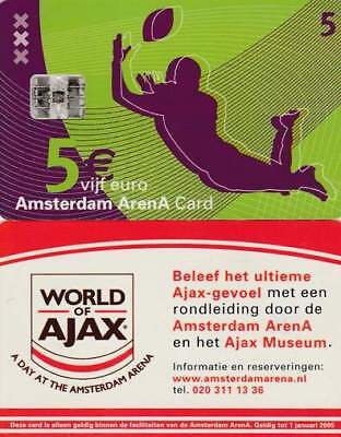 Arenakaart A046-01 5 euro: A day at Amsterdam Arena