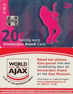 Arenakaart A046-03 20 euro: A day at Amsterdam Arena