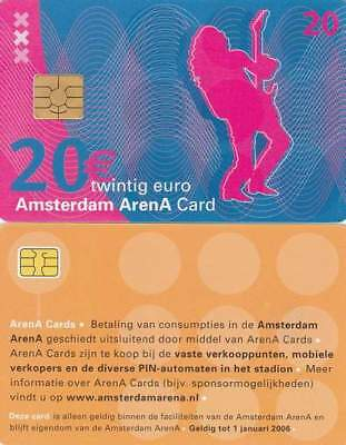 Arenakaart A046-03a 20 euro: A day at Amsterdam Arena