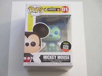 Funko Pop shop exclusive disney blue green Mickey Mouse 90th mint in box 01