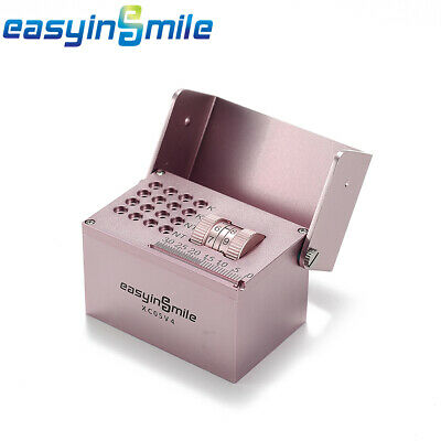 EASYINSMILE NEW Dental Endo Block Bur Files Measuring Count Holder Autoclavable