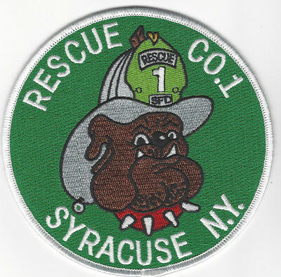 Syracuse Fire Dept. Co. 1 (New York)  Fire Patch