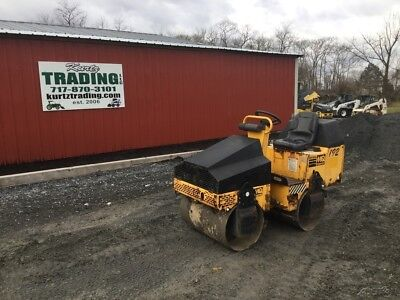 2011 Multiquip AR13HA Tandem Smooth Drum Asphalt Roller