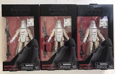Star Wars the Black Series Snowtrooper Episode V #35 MIB In Stock