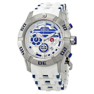 Invicta Star Wars Chronograph White Dial Men's Watch 26551