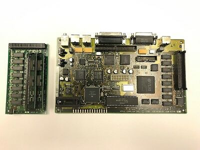 Macintosh Classic Logic Board And Memory Riser - Recapped, Tested