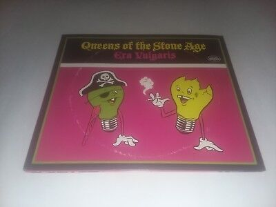 """3x 10"""" Queens Of The Stone Age Era Vulgaris BLACK VINYL OUT OF PRINT"""