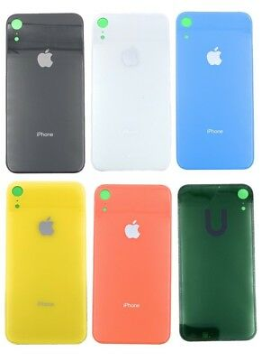 Battery Glass Cover Housing Back Door Adhesive Replacement For iPhone XR 6.1