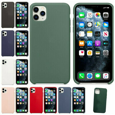 Silicone Case Cover For Apple iPhone X 10 Genuine Original Ultra Thin