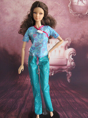 Barbie Doll Nurses Workwear Clothes Outfit