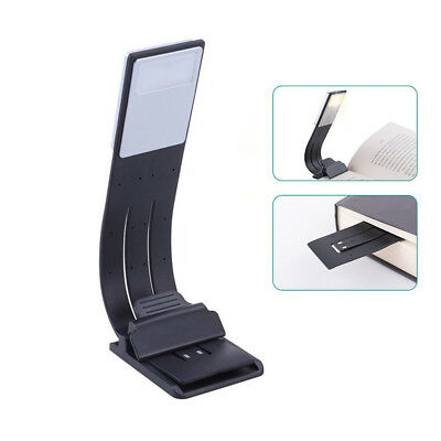 Portable LED Reading Book Light With Detachable Flexible Magnetic Clip USB Lamp