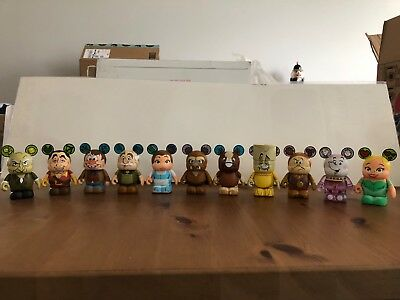 """BRAND NEW! """"Beauty & the Beast"""" Vinylmation Series 1 - 11 Figures, Perfect!"""