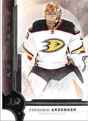 2016-17 Upper Deck Artifacts Andersen Anaheim Ducks #16