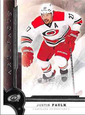2016-17 Upper Deck Artifacts Faulk Carolina Hurricanes #47