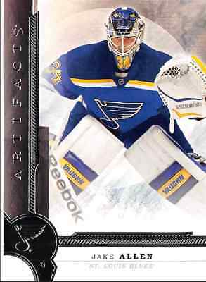 2016-17 Upper Deck Artifacts Allen St Louis Blues #70
