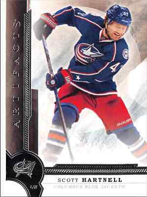 2016-17 Upper Deck Artifacts Hartnell Columbus Blue Jackets #46