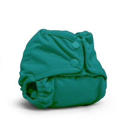 New! Rumparooz  Pocket Newborn Diaper Cover Snaps - Peacock