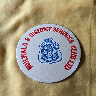 """mulwala & District Services Club Ltd"" New, Perfect Pristine Condition"