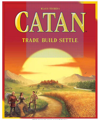 "Brand New Catan Board Game 5th Edition strategy game ""Free shipping"""