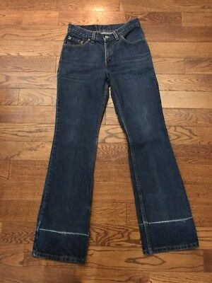 Vintage Levis 517 Made In USA Jeans - Women 5 Jr Ms/ 27 X 30.5
