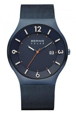 Bering Time Solar Collection 14440-393 Mens Watch